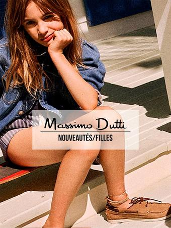 Massimo Dutti reclame folder (geldig t/m 02-06)