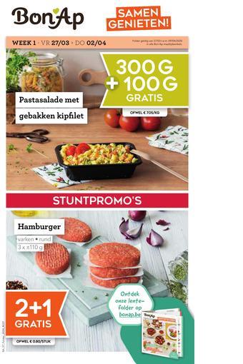 Bon Ap reclame folder (geldig t/m 23-04)