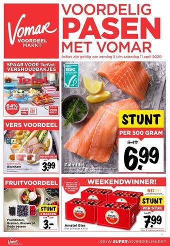 Vomar reclame folder (geldig t/m 11-04)