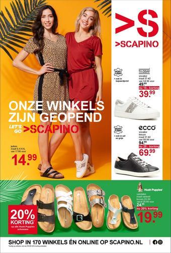 Scapino reclame folder (geldig t/m 19-04)