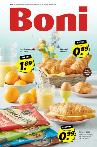 Boni reclame folder (geldig t/m 14-04)