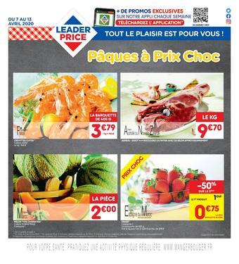 Leader Price catalogue publicitaire (valable jusqu'au 13-04)