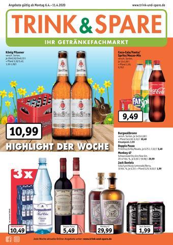 Trink und Spare Prospekt (bis einschl. 11-04)