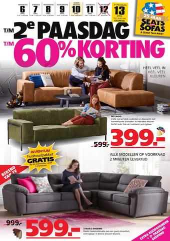 Seats and Sofas reclame folder (geldig t/m 13-04)
