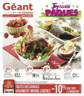 Géant Casino catalogue publicitaire (valable jusqu'au 19-04)