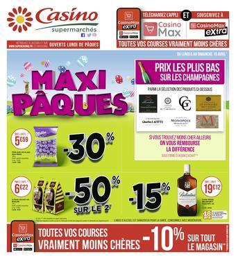 Casino Supermarchés catalogue publicitaire (valable jusqu'au 19-04)