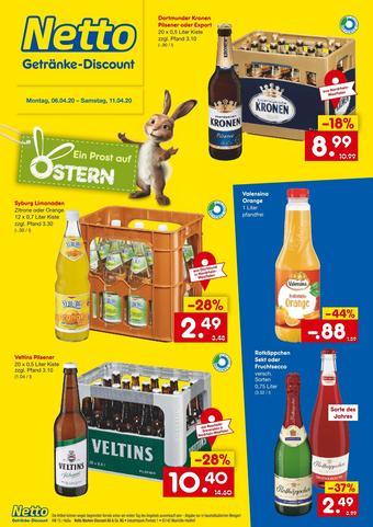 Netto Getränke Discount Prospekt (bis einschl. 11-04)