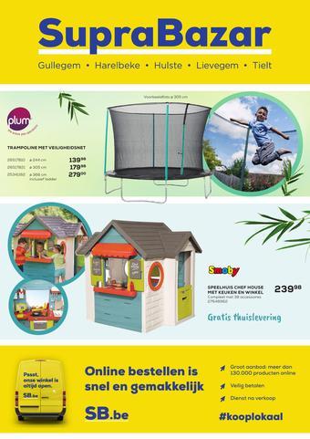 Supra Bazar reclame folder (geldig t/m 03-05)