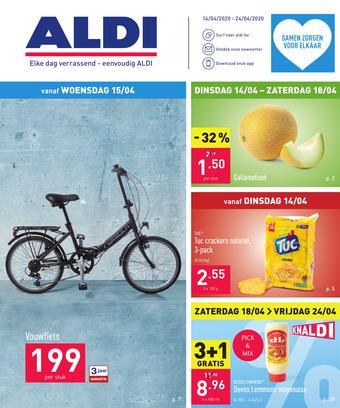 ALDI reclame folder (geldig t/m 24-04)