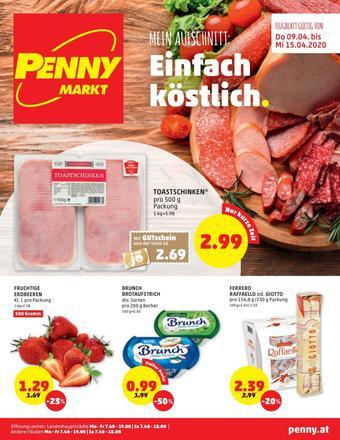 PENNY Werbeflugblatt (bis einschl. 15-04)