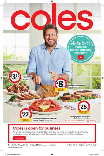 Coles catalogue (valid until 14-04)
