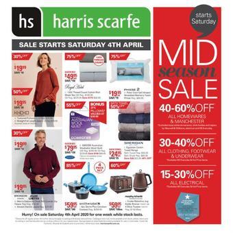 Harris Scarfe catalogue (valid until 10-04)