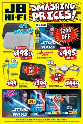 JB Hi-Fi catalogue (valid until 15-04)