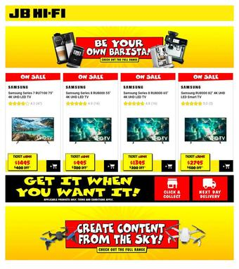 JB Hi-Fi catalogue (valid until 30-04)