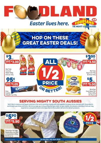 Foodland catalogue (valid until 14-04)