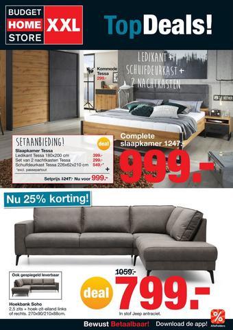 Budget Home Store reclame folder (geldig t/m 10-04)