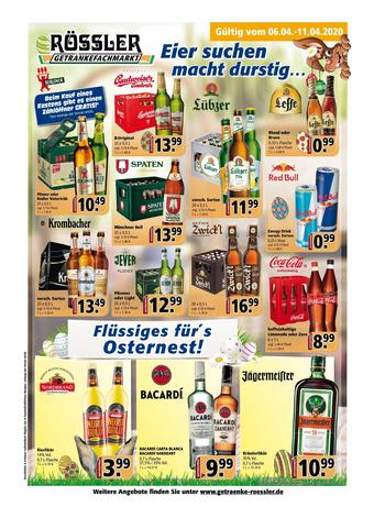 Getränke Rössler Prospekt (bis einschl. 11-04)