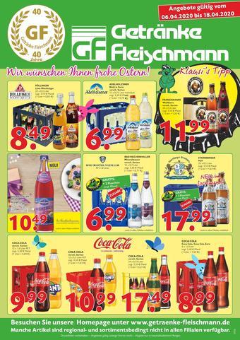 Getränke Fleischmann Prospekt (bis einschl. 18-04)