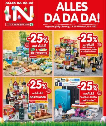 Interspar Werbeflugblatt (bis einschl. 15-04)
