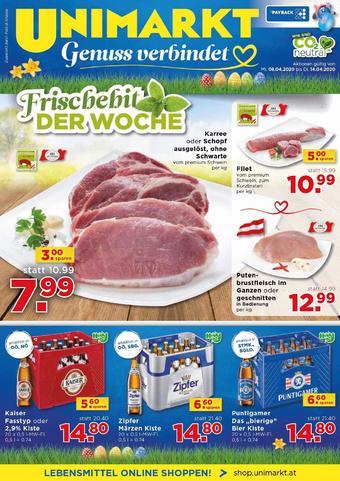 Unimarkt Werbeflugblatt (bis einschl. 14-04)
