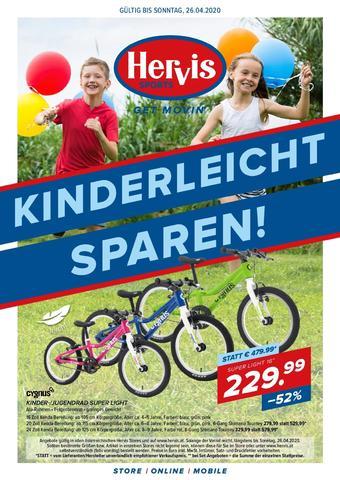 Hervis Werbeflugblatt (bis einschl. 26-04)