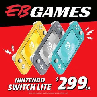 EB Games catalogue (valid until 30-04)