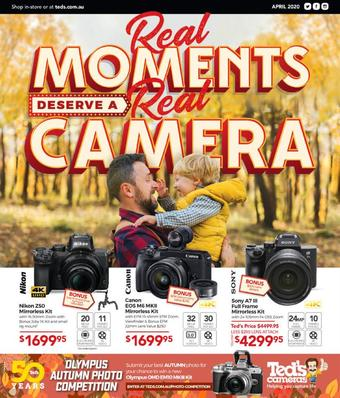 Teds Cameras catalogue (valid until 03-05)