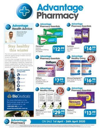 Advantage Pharmacy catalogue (valid until 26-04)