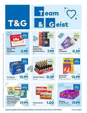T&G Werbeflugblatt (bis einschl. 12-04)