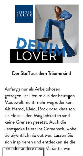 Kleiderbauer Werbeflugblatt (bis einschl. 11-05)
