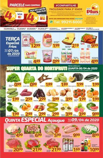 Rede Plus Supermercados catálogo promocional (válido de 10 até 17 13-04)