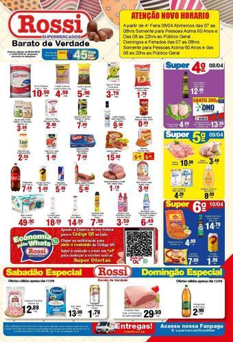 Rossi Supermercado catálogo promocional (válido de 10 até 17 14-04)