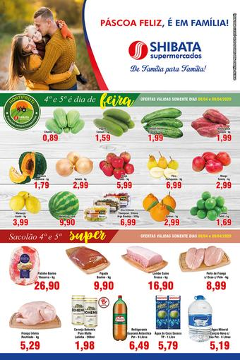 Shibata Supermercados catálogo promocional (válido de 10 até 17 14-04)