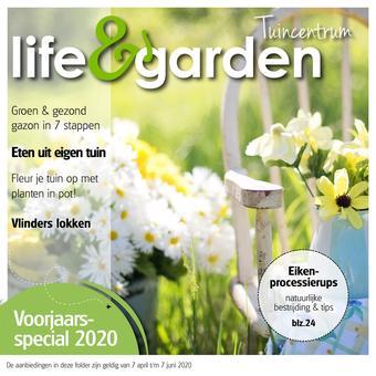 Life & Garden reclame folder (geldig t/m 07-06)