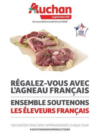 Auchan catalogue publicitaire (valable jusqu'au 13-04)
