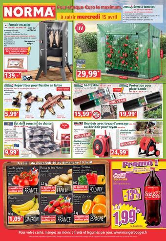 Norma catalogue publicitaire (valable jusqu'au 21-04)