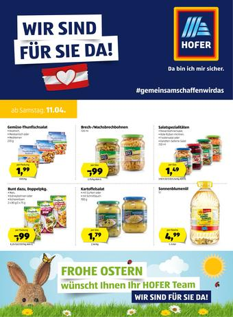 Hofer Werbeflugblatt (bis einschl. 18-04)
