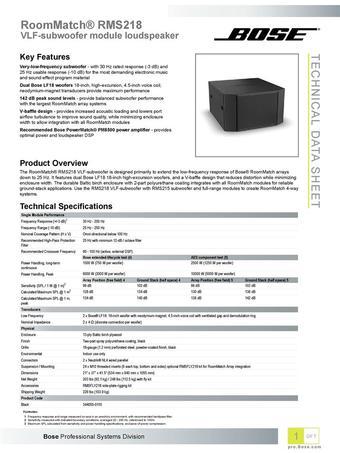 Bose catálogo (válido hasta 06-07)
