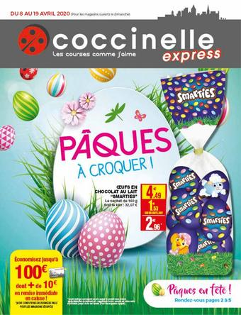 Coccinelle Express catalogue publicitaire (valable jusqu'au 19-04)