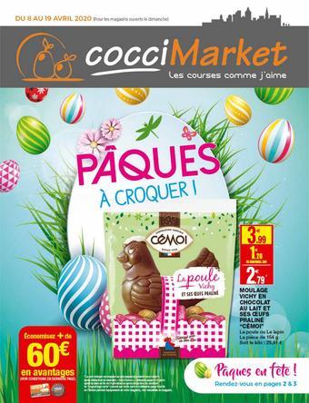 Coccimarket catalogue publicitaire (valable jusqu'au 19-04)