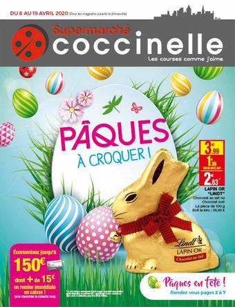 Coccinelle Supermarché catalogue publicitaire (valable jusqu'au 19-04)