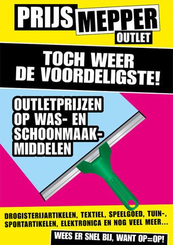 Prijsmepper reclame folder (geldig t/m 30-06)