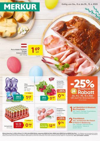 MERKUR Markt Werbeflugblatt (bis einschl. 15-04)