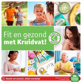 Kruidvat reclame folder (geldig t/m 25-10)