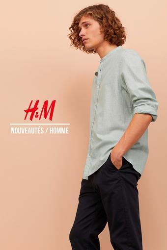 H&M reclame folder (geldig t/m 14-06)