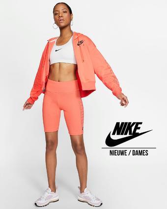 Nike reclame folder (geldig t/m 07-06)