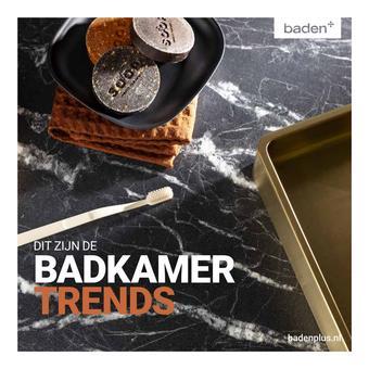 Badenplus reclame folder (geldig t/m 31-03)