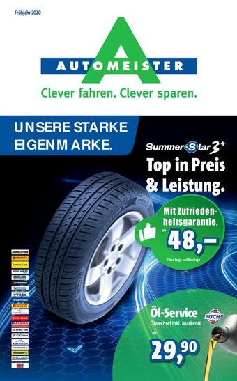 Automeister Prospekt (bis einschl. 30-06)