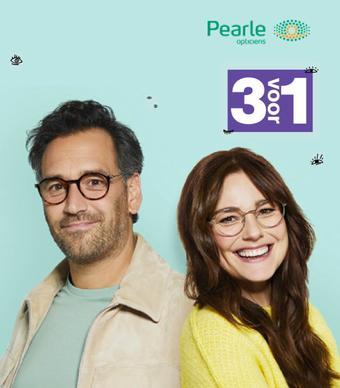 Pearle reclame folder (geldig t/m 31-05)