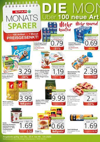 Spar Werbeflugblatt (bis einschl. 03-06)